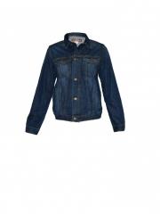 Dark Blue Boys Denim Jacket dark blue l