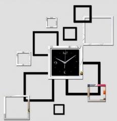 3D wall clock modern design