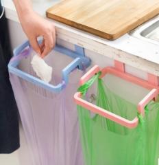 4 Pcs The kitchen Garbage Bag Rack