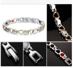 Titanium Health bracelet Anti fatigue Bracelet Titanium one size
