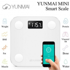 Yunmai mini Smart Scale - Body Fat Scale with Fitness APP & Body Composition Monitor White one size