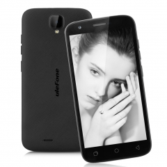 "Ulefone U007 Original 5.0"" Android 6.0 HD 1G RAM 8G ROM 8.0 MP Back Camera Smartphone Black"