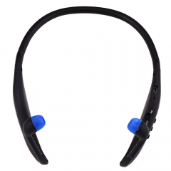Sport Bluetooth 4.0 Stereo Headset Earphone Support FM Radio TF Card Playing Black