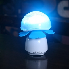 clover Smart lamp hand touch bluetooth mini mp3 player with built in bluetooth speaker