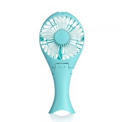 usb mini rechargeable hand fan Blue