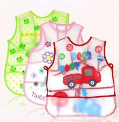 3Pcs Baby Bibs & Burp Cloths Waterproof  Feeding Care  Cartoon Pattern Newborn Burp Cloths Pink sun flower 45*28cm