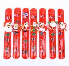 10pcs Christmas Decorations Christmas Patting Circle Christmas Children Gift Red 22*3cm