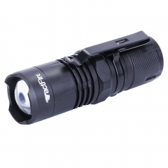 HOT Mini Zoomable 4Modes Tactfire XML T6 LED Flashlight Torch Lamp Light black one size