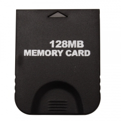 128MB 128 MB Memory Card for Nintendo GameCube GC Wii Console Black