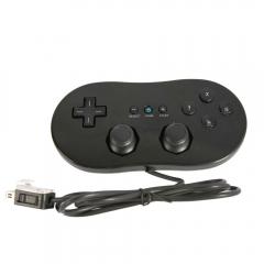 Nuovo Cablata Nero Classic Controller Pro per Nintendo Wii Remote Video Gioco Black