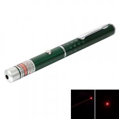 1mw 650nm Red Laser Beam Single-point Laser Pointer Pen Green Green no