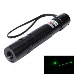 400mW 532nm Green Beam Light Tailcap Laser Pointer Pen Black black no