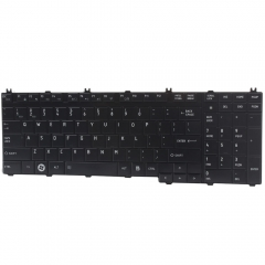 New Laptop Keyboard for Toshiba Satellite L505 L505D A500 Black Replacement black one size