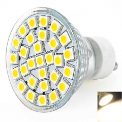 Bright GU10 5W 29 5050SMD LED Spot Light 2800-3200K Warm White Light Bulb 220V white one size 5w