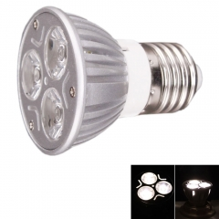 5Pcs Ultra Bright E27 85-265V 3W LED Flat Fluorescent Lamp Spotlight Energy-Saving as picture one size 3w