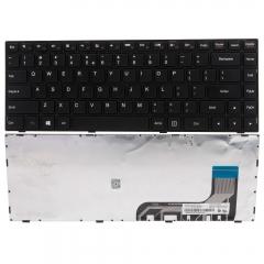 New Laptop Keyboard for Lenovo IdeaPad 100-14IBY Black black one size