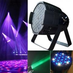 54x3w LED Stage Light RGBW Par64 162W DMX512 Disco XMAS Club Party Show black one size 162W