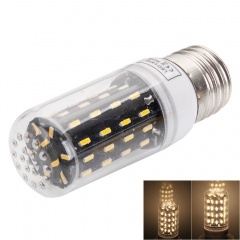 SMD4014 Cover LED Lamp Bulb E27 7W LED Corn Light (AC 220-240V) as picture one size 7w