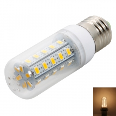 E27 7W 200-240V 36LED 400-450LM SMD5730 3000-3500K ZM Warm White Corn Light with Lampshade as picture one size 7w