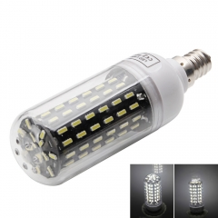 E12 9W 6000-6500K White Light 96-SMD4014 LED Corn Lamp Bulb 220-240V as picture one size 9w