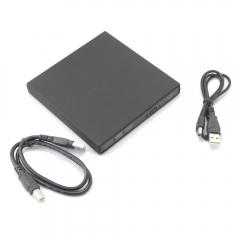 New External USB LightScribe DVD + / - RW DVD-ROM CD-RW  DVD-RW Burner Drive black