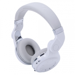 Bluedio Foldable Turbine T2 Bluetooth 4.1 Wireless Stereo Headphones Headset White