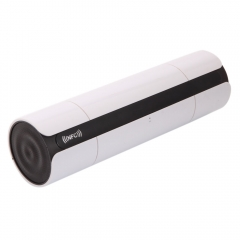 NFC LCD Portable Wireless Bluetooth Speaker Super Bass Stereo Music FM TF Player White