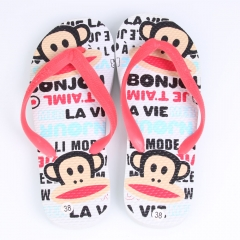 Fashionable Casual Style Mouth Monkey Lovers Slippers Flip Flops Sandls as picture 38