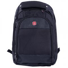 Swissgear Laptop Notebook Shoulder Bag Rucksack Backpack Travel School Bag black one size