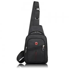 SwissGear Travel Sports Running Shoulder Cross Body Messenger Sling Chest Bag black one size