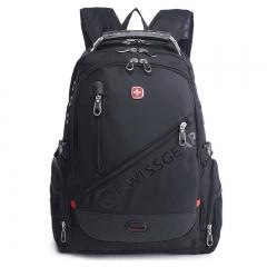 Men's Business Travel Outdoor Large Capacity Laptop Backpack Black Swissgear black one size