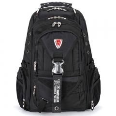 SwissGear Women Men Multi Function 15.6 Laptop Notebook Backpack School Bag Rucksack black one size