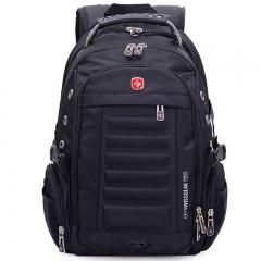 "Swiss Gear Men 15"" Laptop Backpack Computer Notebook Outdoor School Travel Bag black one size"