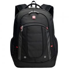 """Swissgear 15.6"""" Laptop Notebook Satchel Shoulder Bag Rucksack Backpack Bookbag black one size"""