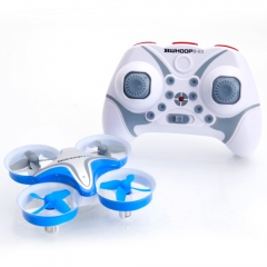 BoldClash BWHOOP B-03 Altitude Hold 716 Motor EDF RC Quadcopter 260mAh 3.7V Blue as picture Bwhoop B-03