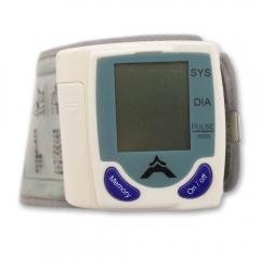 60 Memory Storage Wrist Cuff LCD Digital Blood Pressure Pulse Monitor as picture