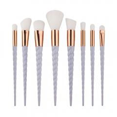 Women Unicorn Makeup Brushes Set Powder Foundation Eyeshadow Cosmetic Brushes white
