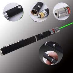 Hot 5mW 532nm Mid-open Green Laser Pointer Pen Powerful Strong Beam Light green 5W