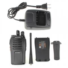 Baofeng BF-666S UHF 400-470 MHz Two-way Radio US Plug Walkie Talkie black one size