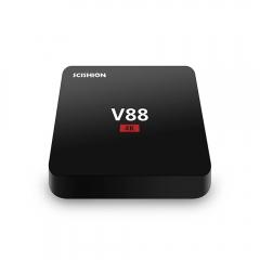 V88 Smart TV Box RK3229 Quad Core 8GB WIFI Android 5.1 Media Player black one size