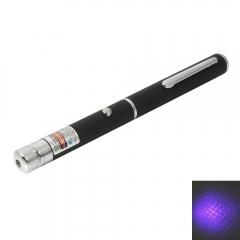 1mw 405nm Blue and Purple Beam Light Starry Sky & Single-point Laser Pointer Pen purple 1w
