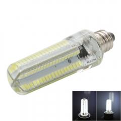E11 5W 100-120V 152LED 3014 SMD Adjustable Silica Gel Corn Light white one size 5w