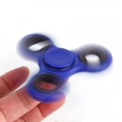 Hand Spinner Tri Fidget Ceramic EDC Desk Toy Stocking Stuffer Kids or Adult blue one size