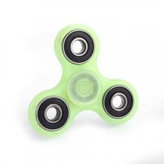 Night Lights Plasic EDC Hand Spinner Gadget Finger Focus Reduce Stress green