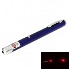 5mW 650nm Red Beam Light Single-point Rechargeable Laser Pointer Pen blue 5mw