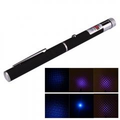 405nm 5mW Powerful Visible Beam Lazer Blue Violet Purple Laser Pointer Pen Light blue 5mw