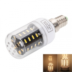 E14 5W 3000-3500K Warm White Light 36-SMD4014 LED Corn Lamp Bulb (AC 110-130V) warm white one size 5w