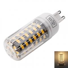 G9 7W 64-LED 5733SMD 3000-3500K Warm White LED Corn Lamp with Lampshade warm white one size 7w