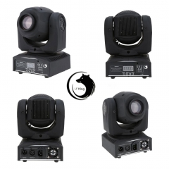 50W RGBW LED Moving Head Stage Light DMX-512 DJ Disco Party Club Stage Light rgb one size 50w
