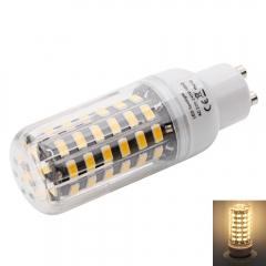 GU10 7W 64-LED 5733SMD 3000-3500K LED Corn Lamp with Lampshade (AC 100-120V) warm white one size 7w